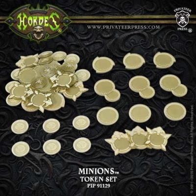 HORDES Minions Faction Tokens 2016