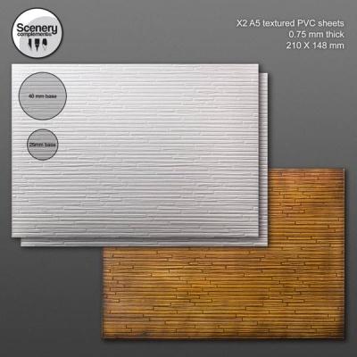 Textured Sheet: Wood Flooring (2)