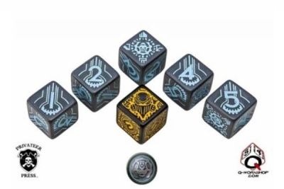 Warmachine Convergence of Cyriss Faction Dice (6)
