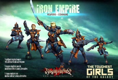 Iron Empire - Reapers - Command (5) (IE)