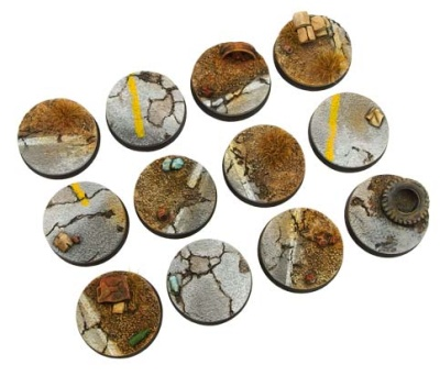 Highway Bases, Round 25mm (5)