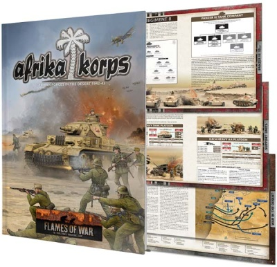 Afrika Korps Army Book (Mid-war)