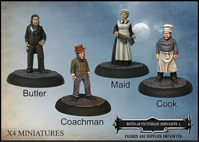 Victorian Servants Set 1 (4)