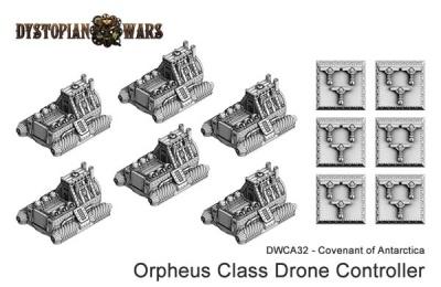 Covenant of Antarctica Orpheus Class Drone Controller (OOP)