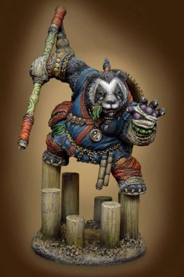 Ancient Warriors - Panda Monk (1)
