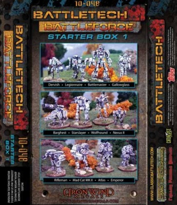 BattleTech Battle Force Scale Starter Box # 1 (12)