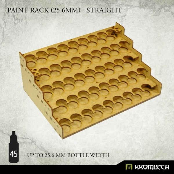 Paint Rack (25.6mm) - Straight