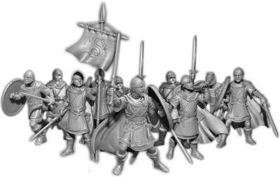 Urien's Guard, Teulu Command Unit (10)
