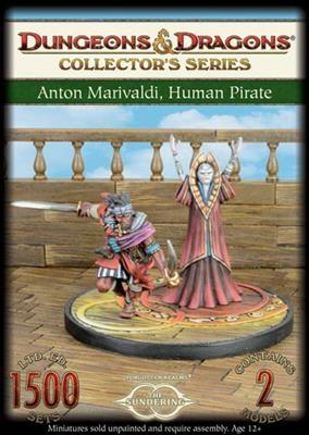 D&D Anton Marivaldi, Human Pirate