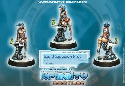 Infinity Bootleg! Lizard Pilot (NO)