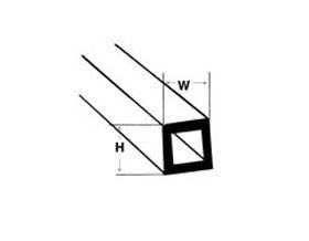 Quadratisches Rohr (35cm klein)