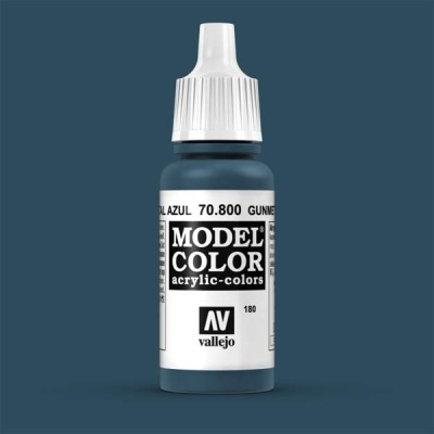 Model Color 180 Blauer Stahl (Gunmetal Blue) (800)