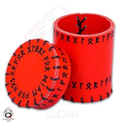 Würfelbecher: Runic Red