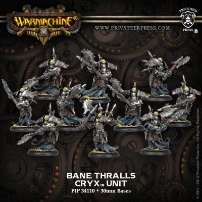 Cryx Bane Thrall Unit Box (plastic) (10)