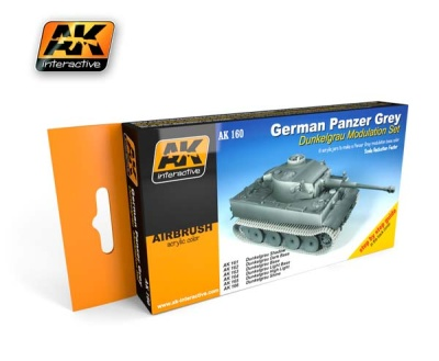 German Panzer Grey Set