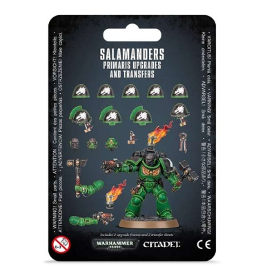 Salamanders Primaris Upgrades & Transfers (MO)