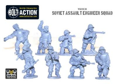Soviet Assault Engineer squad (8)
