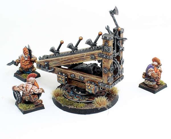 Dwarf Axe Throwing Machine
