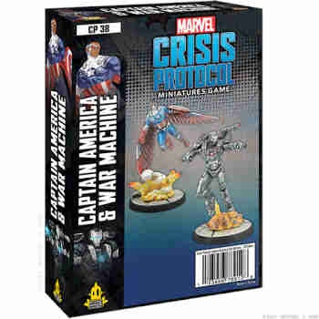 Marvel Crisis Protocol: Captain America & War Machine EN