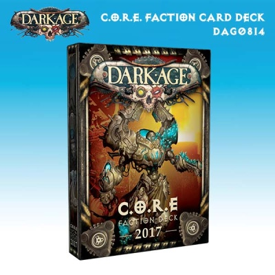 Dark Age Faction Deck - C.O.R.E. 2017 Cards