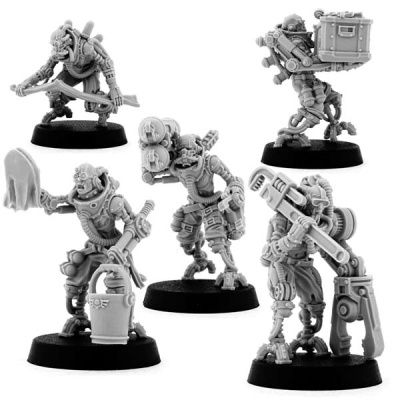 Mechanic Maintenance Servitors (5)