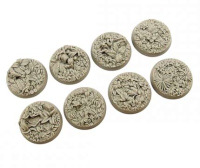 Jungle Bases, Round 32mm (4)