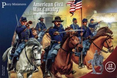 Plastic ACW Cavalry Boxset (12)