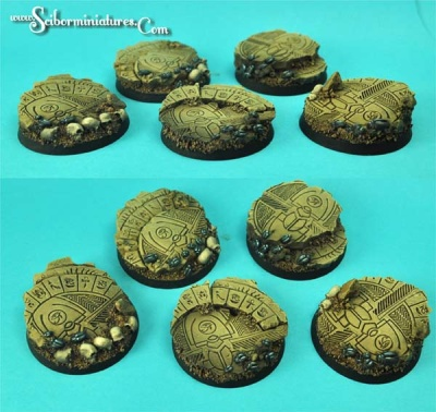 Egyptian Ruins 40mm Round I (4)