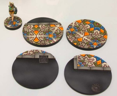 Arabesque Bases 55mm (4)