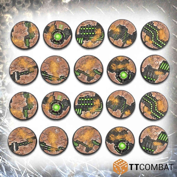 28mm Tomb World Bases (20)