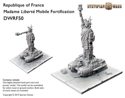 Republique of France Liberte Mobile Fortification