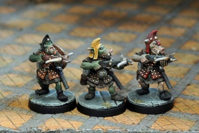 Pig-Faced Orc Crossbows (3)