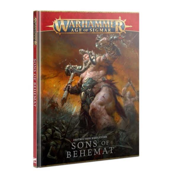 Battletome: Sons of Behemat (HB) (DE)