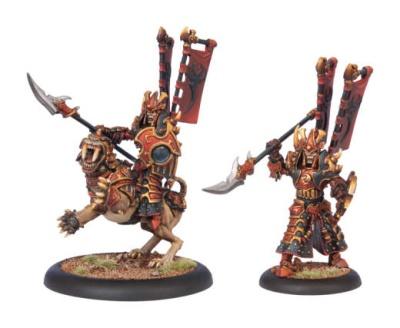 Skorne Tyrant Rhadeim Character Dragoon
