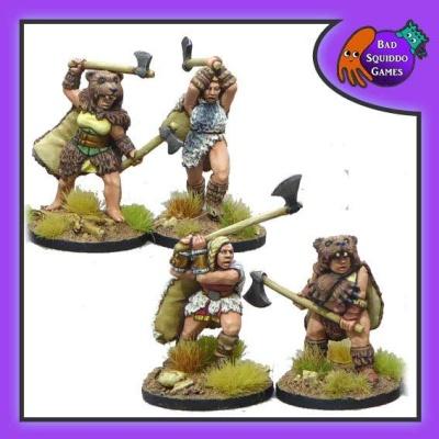 Shieldmaiden Berserkers (4)