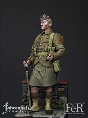NCO, Argyll & Sutherland Highlanders, 1915 (75mm)