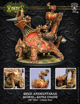 Skorne Siege Animantarax Battle Engine Box (plastic)