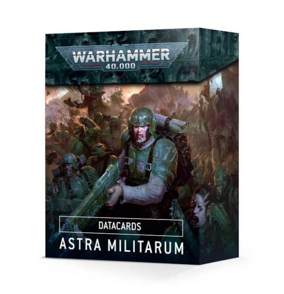 Datakarten: Astra Militarum ENGLISCH