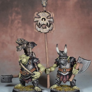 Orc Musician and Standard Bearer