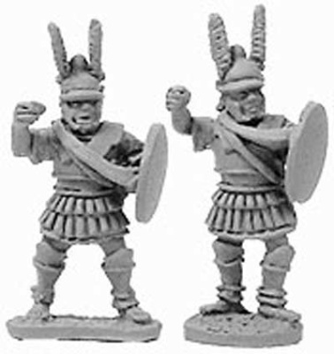 Macedonian Pikemen Officers/File Leaders (random