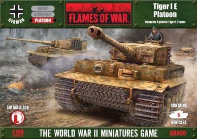 Tiger I E Platoon (Plastic)