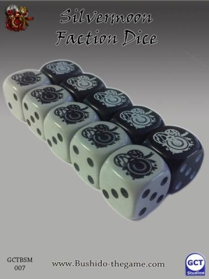 The Silvermoon Trade Syndicate Faction Dice (10)