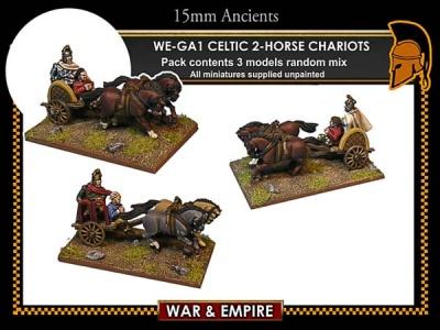 Celtic 2-Horse Chariots