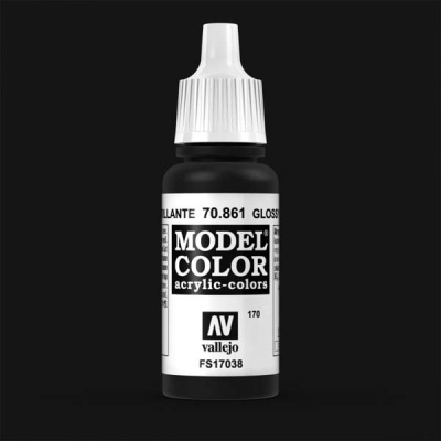 Model Color 170 Tiefschwarz (Lack) (Glossy Black) (861)