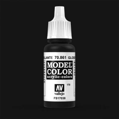 Model Color 170 Tiefschwarz (Lack) (Glossy Black) (861)