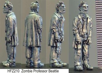Zombiefied Professor Beattie