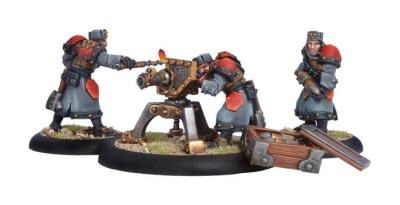 Khador Winterguard Field Gun Crew