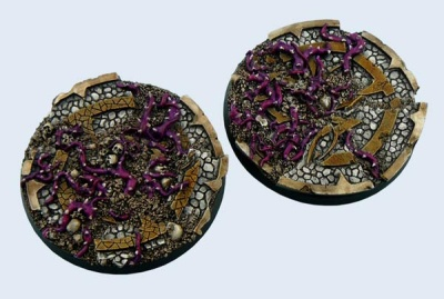 Dark Temple Bases, Round 60mm (2)