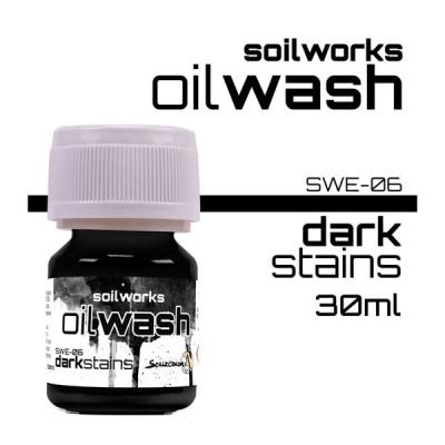 Oil Wash: Dark Stains