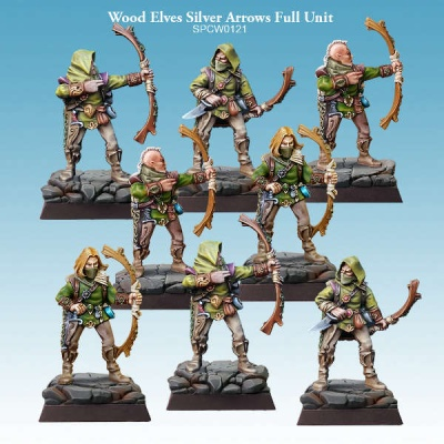 Wood Elves Silver Arrows Full Unit (8)